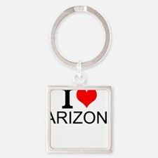 I Love Arizona Keychains