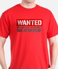 Wanted! Meaningful Overnight Relationship T-Shirt
