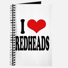 I Love Redheads Journal