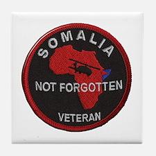 Somalia Veteran Tile Coaster