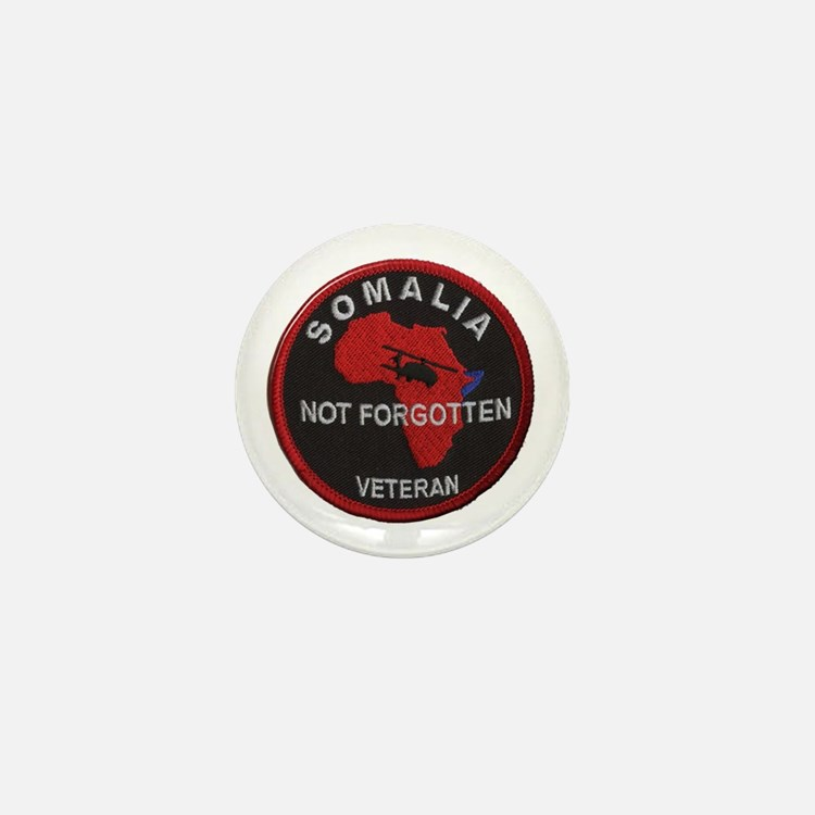 Somalia Veteran Mini Button