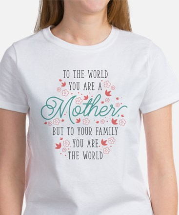 You Are The World Tee