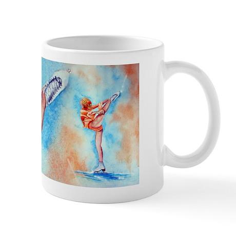 Peaches & Cream Ice Skate Mug