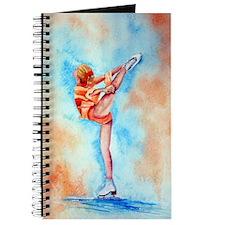 Peaches & Cream Ice Skate Journal