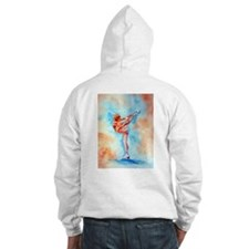 Peaches & Cream Ice Skate Jumper Hoody