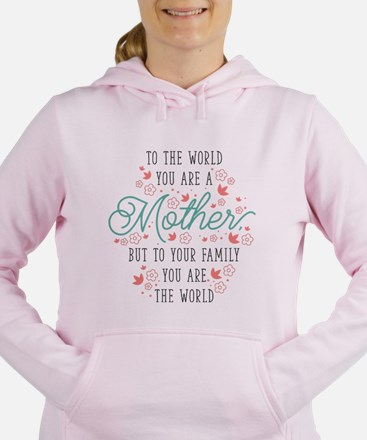 You Are The World Women's Hooded Sweatshirt