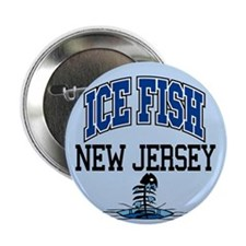 """Ice Fish New Jersey 2.25"""" Button"""