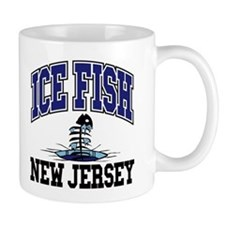 Ice Fish New Jersey Mug