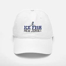 Ice Fish New Jersey Baseball Baseball Cap