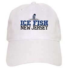 Ice Fish New Jersey Baseball Cap