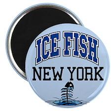 Ice Fish New York Magnet