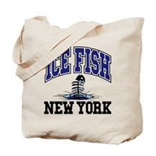 Ice Fish New York Tote Bag