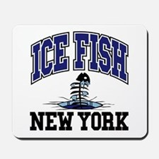 Ice Fish New York Mousepad