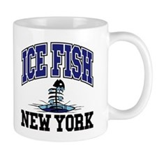 Ice Fish New York Mug