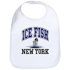 Ice Fish New York Bib