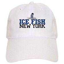 Ice Fish New York Baseball Cap