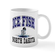 Ice Fish North Dakota Mug