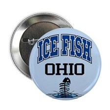 "Ice Fish Ohio 2.25"" Button"