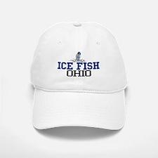 Ice Fish Ohio Baseball Baseball Cap