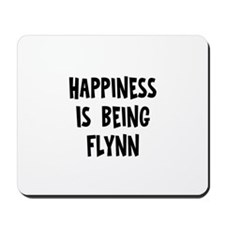 Happiness is being Flynn Mousepad