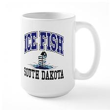 Ice Fish South Dakota Mug