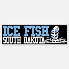 Ice Fish South Dakota Bumper Bumper Bumper Sticker