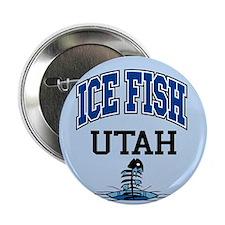 "Ice Fish Utah 2.25"" Button (10 pack)"