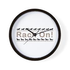 Rack Ani Wall Clock