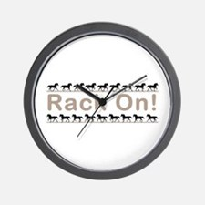 Rack Ani Wall Clock