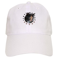 I Love My Cat Baseball Cap