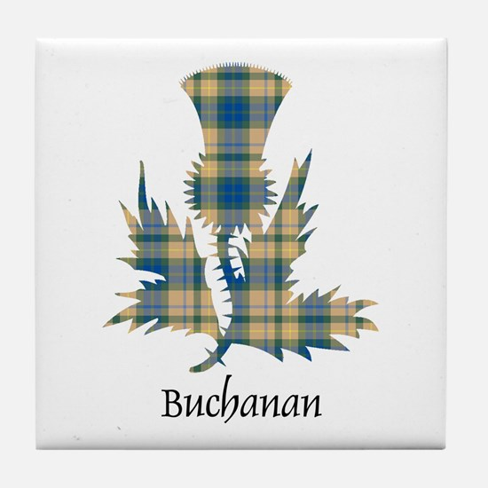 Thistle-Buchanan hunting Tile Coaster