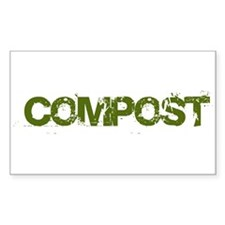 COMPOST Rectangle Decal