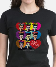 I Love Lucy: Headshot Hearts Tee