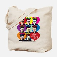 I Love Lucy: Headshot Hearts Tote Bag