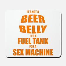 Beer Belly Mousepad