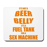 Beer Belly Mousepad