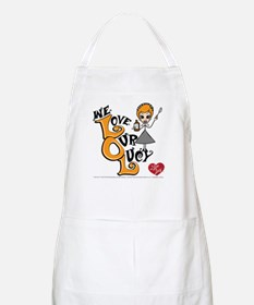 We Love Our Lucy Apron