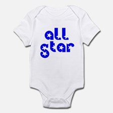 all star Infant Bodysuit