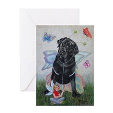 Lola, Butterfly Greeting Card