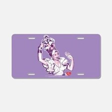 I Love Lucy: Lucy Rumba Aluminum License Plate