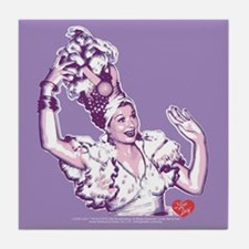 I Love Lucy: Lucy Rumba Tile Coaster
