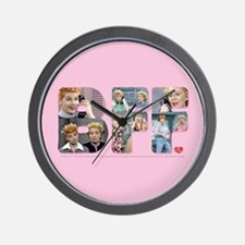 I Love Lucy: BFF Wall Clock