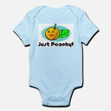 Just Peachy Infant Creeper