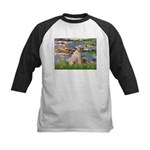 Lilies2/Greyhound (f) Kids Baseball Jersey