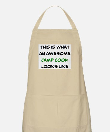 awesome camp cook Apron
