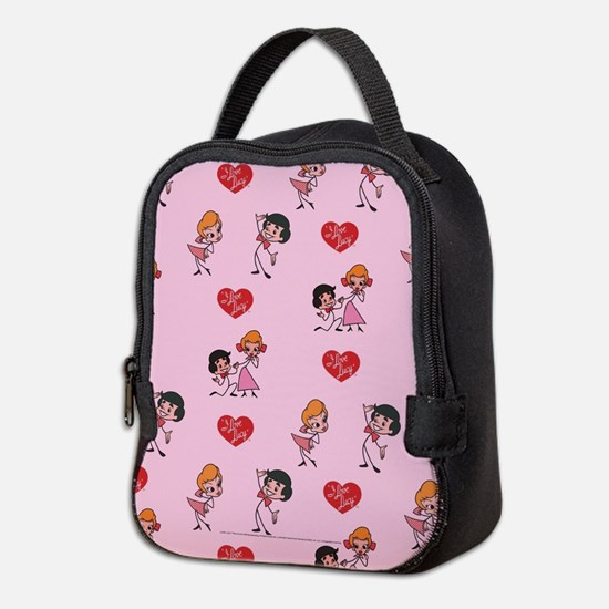 I Love Lucy: Pattern Neoprene Lunch Bag