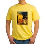 Cafe / JRT Yellow T-Shirt