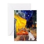 Cafe / JRT Greeting Card