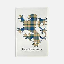 Lion-Buchanan hunting Rectangle Magnet
