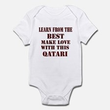 learn best from this Qatari Infant Bodysuit